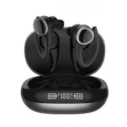 Casti fara fir cu microfon, stereo, earbuds, earhook, waterproof, VG-T09