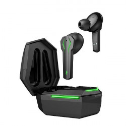 Casti fara fir, in-ear, stereo, Bluetooth 5.0, negru, TWS-8