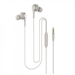 Casti In-EAR Stereo cu Jack 3.5mm si Microfon, Alb, PM-0052