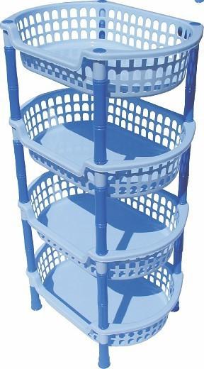 Etajera Plastic Ovala 4 Etaje