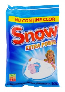 Detergent pudra inalbitor 160 g Snow extra power