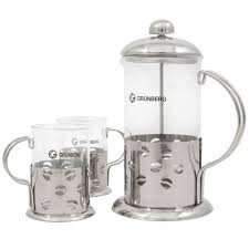 Infuzor cu 2 cescute pentru ceai si cafea Grunberg
