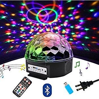 Glob Multicolor LED Crystal Magic Ball
