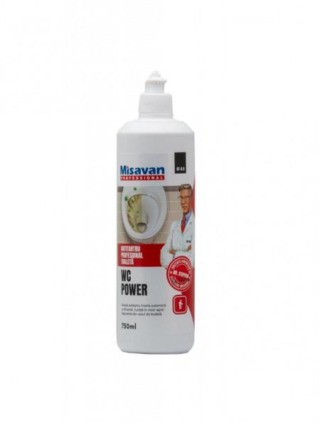 Solutie antitartru pentru vasul de toaleta Misavan