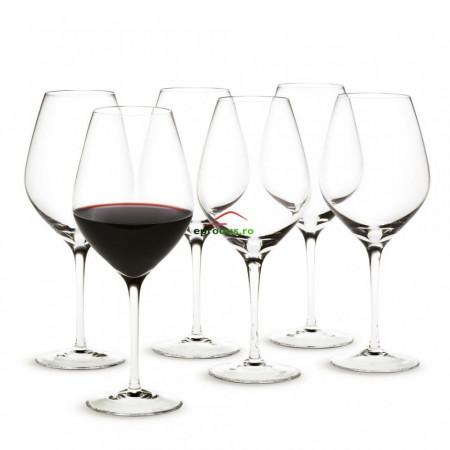 Set 6 Pahare Vin Cu Picior 225ml