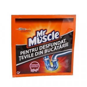 Mr Muscle Granule pentru desfundat tevi 50g