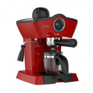 Espressor manual Victronic, 800W, 250ml, 3.5 bar, VC3612 Rosu