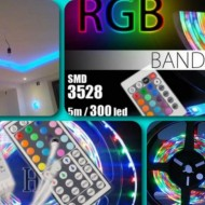 Banda LED de 5 metri cu telecomanda