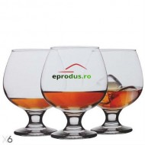 Set 6 Pahare Misket Brandy 390ml