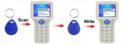 Scriere / Copiere 10 carduri si tag-uri RFID