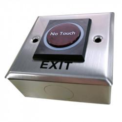 Cutie metalica pentru butoane de iesire, din inox, E-LOCKS