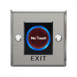 "Buton de iesire ""No Touch"" IR, incastrabil, din inox, E-LOCKS"