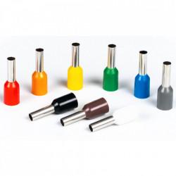Set 1900 bucati pini terminali E-LOCKS pentru conductori electrici 0,50 - 6,00 mm²