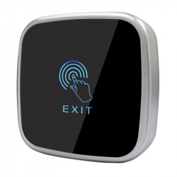 "Buton de iesire E-LOCKS ""Touch"", aplicat, gri, din plastic"