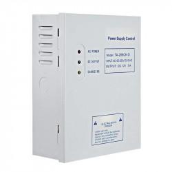 Sursa de alimentare de 12V / 5A pentru sisteme de acces, cu backup