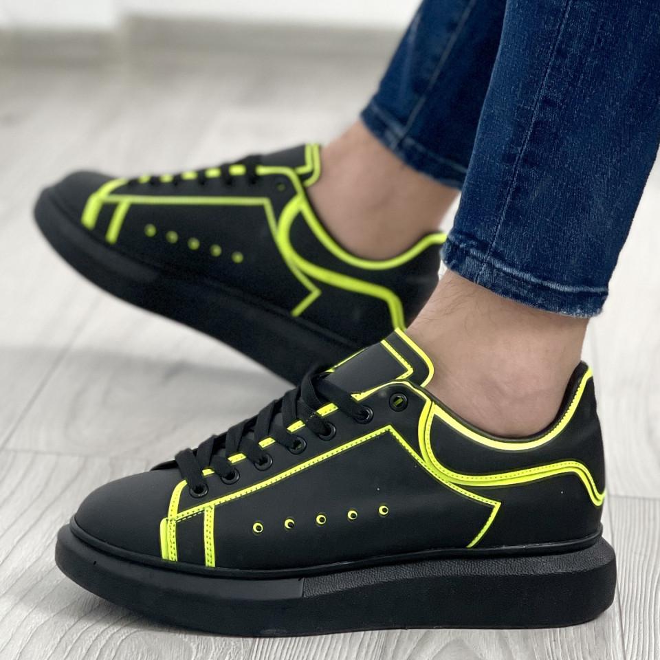 Adidas MQ Striped Negru-Verde