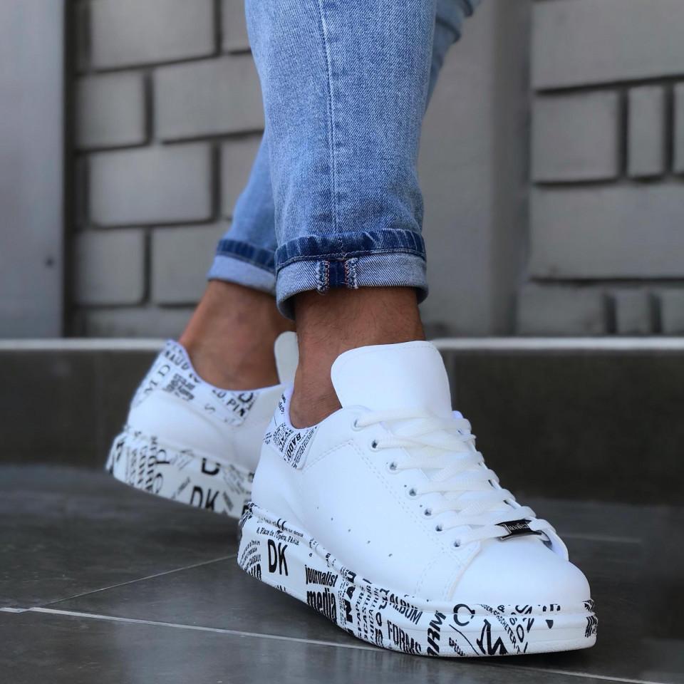Adidasi Splash Alb-Gazzette