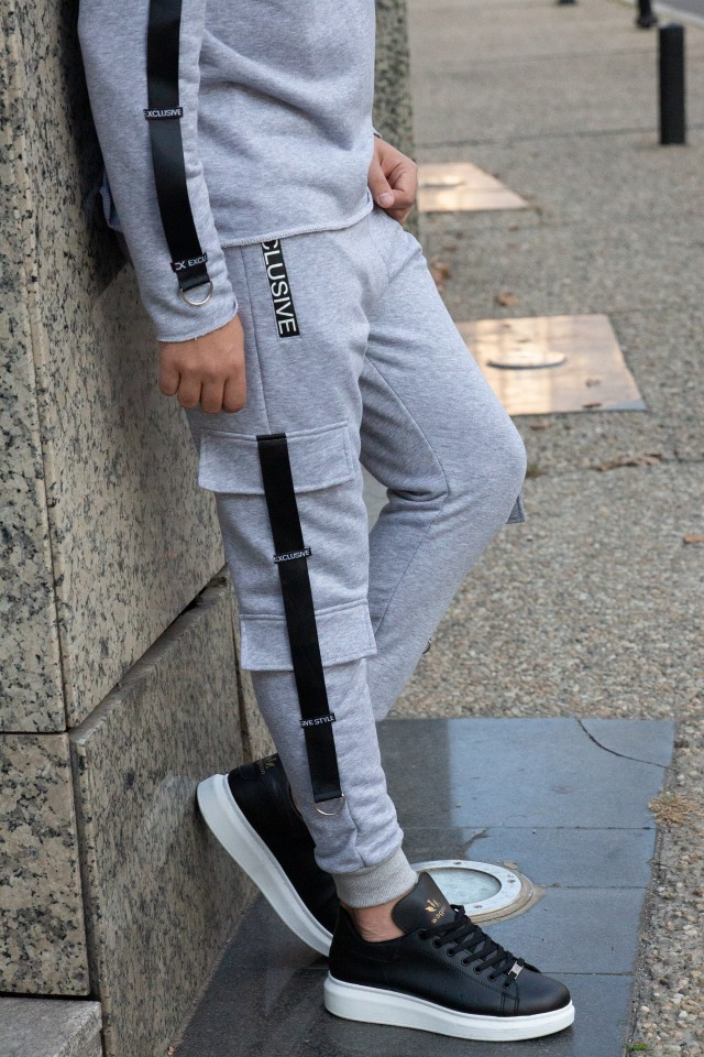 Pantaloni PXG11 Gri