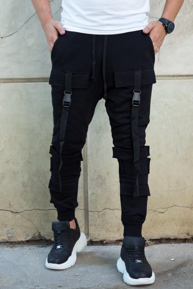 Pantaloni Rebel ADA1008 Negru