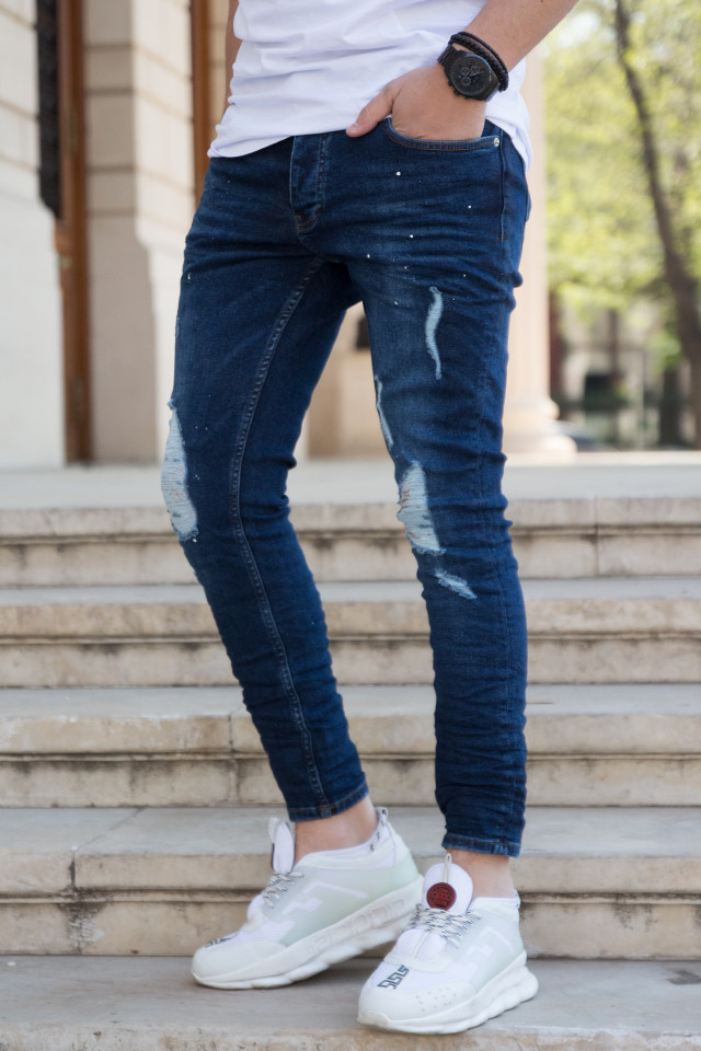 Pantaloni Slim 3360Paint