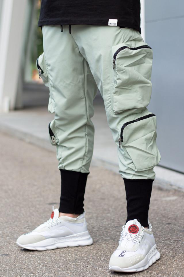 Pantaloni Uzzi Verde Mint