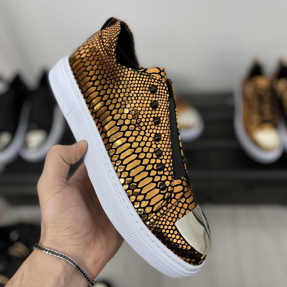 Pantofi sport LST Auriu-Alb