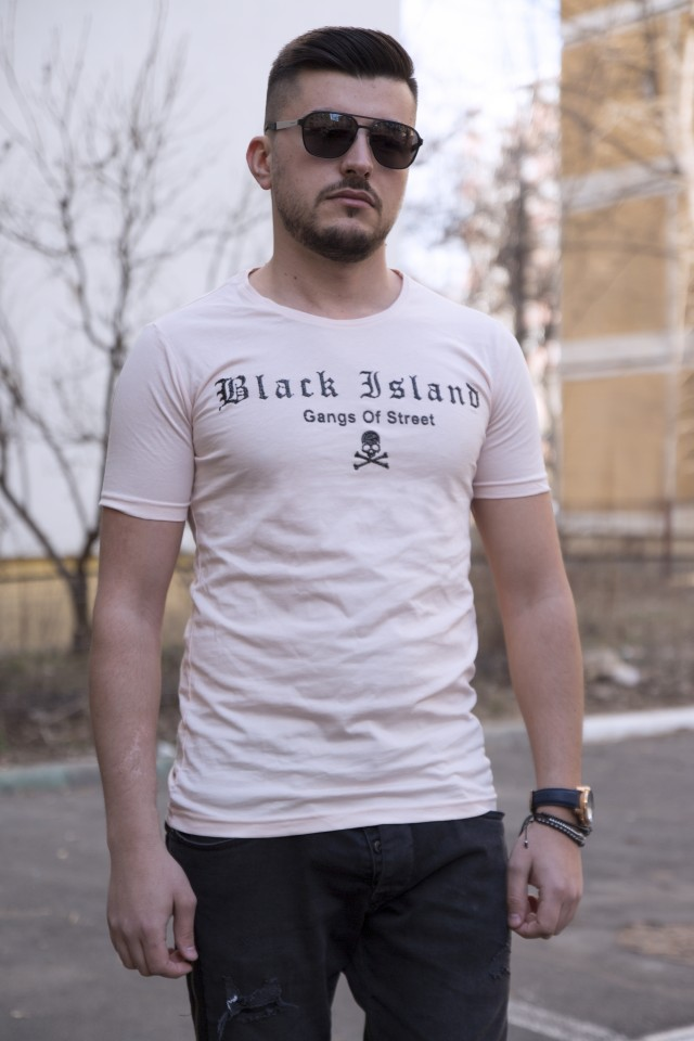 Tricou Black Island Powder