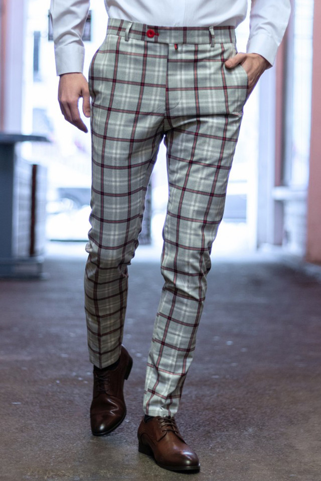 Pantaloni Eleganti Mansfield Gri GR