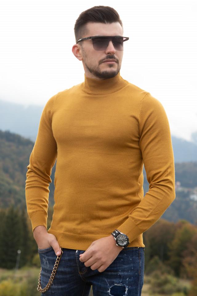 Helanca Premium Bruno Leoni Galben Mustar