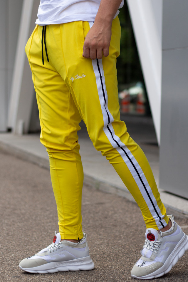 Pantaloni 2Y Border Galben