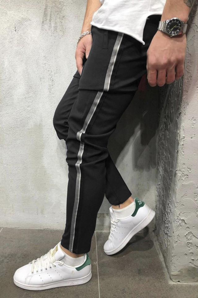 Pantaloni Casual Negru COD : P1030
