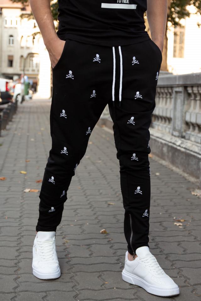 Pantaloni cu tur lasat DarkSkull