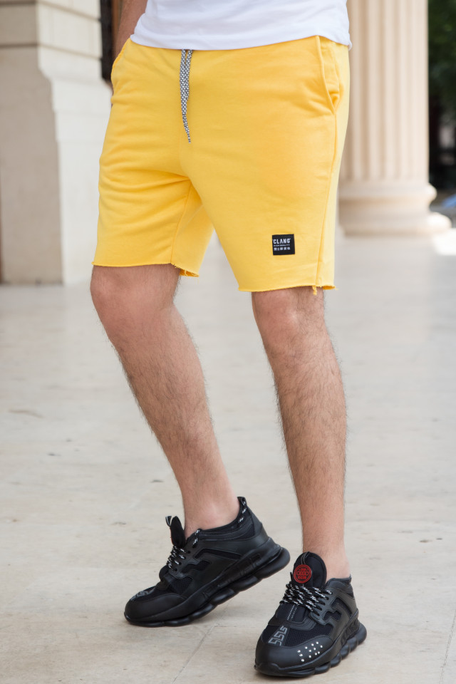 Pantaloni Scruti Clang Galben