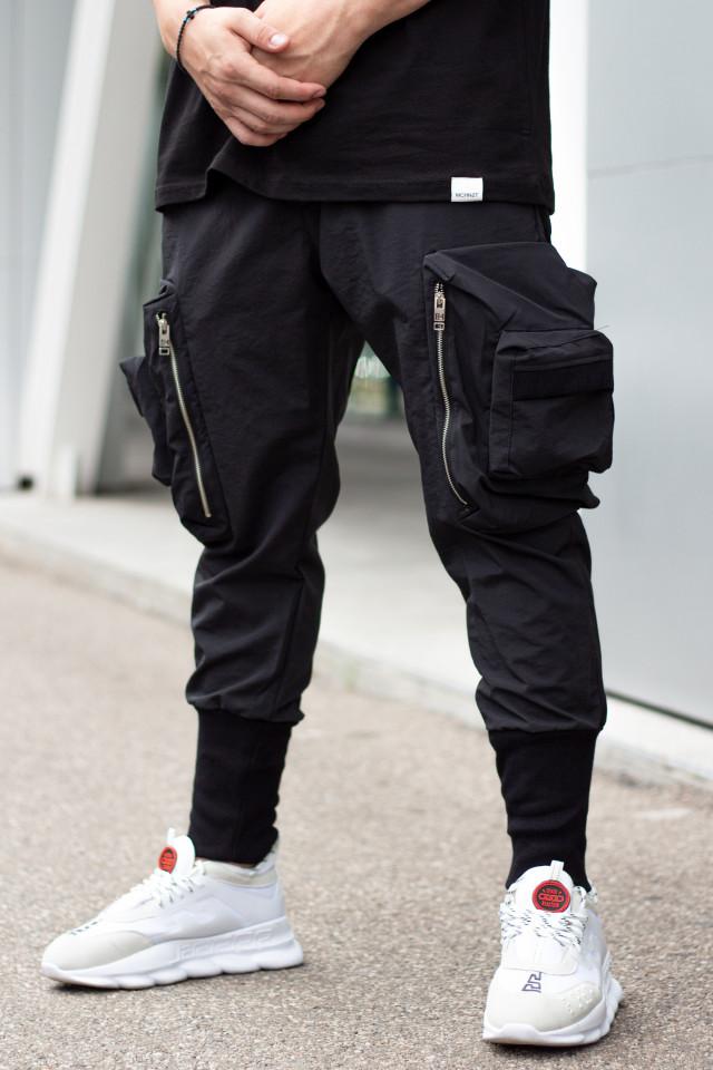 Pantaloni Wick Negru