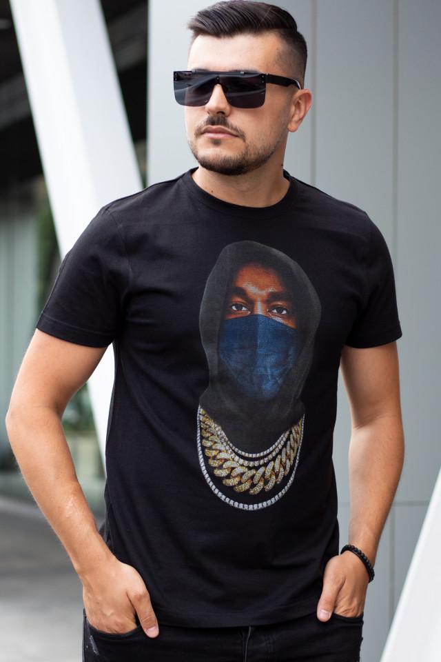 Tricou Mask KNY Negru