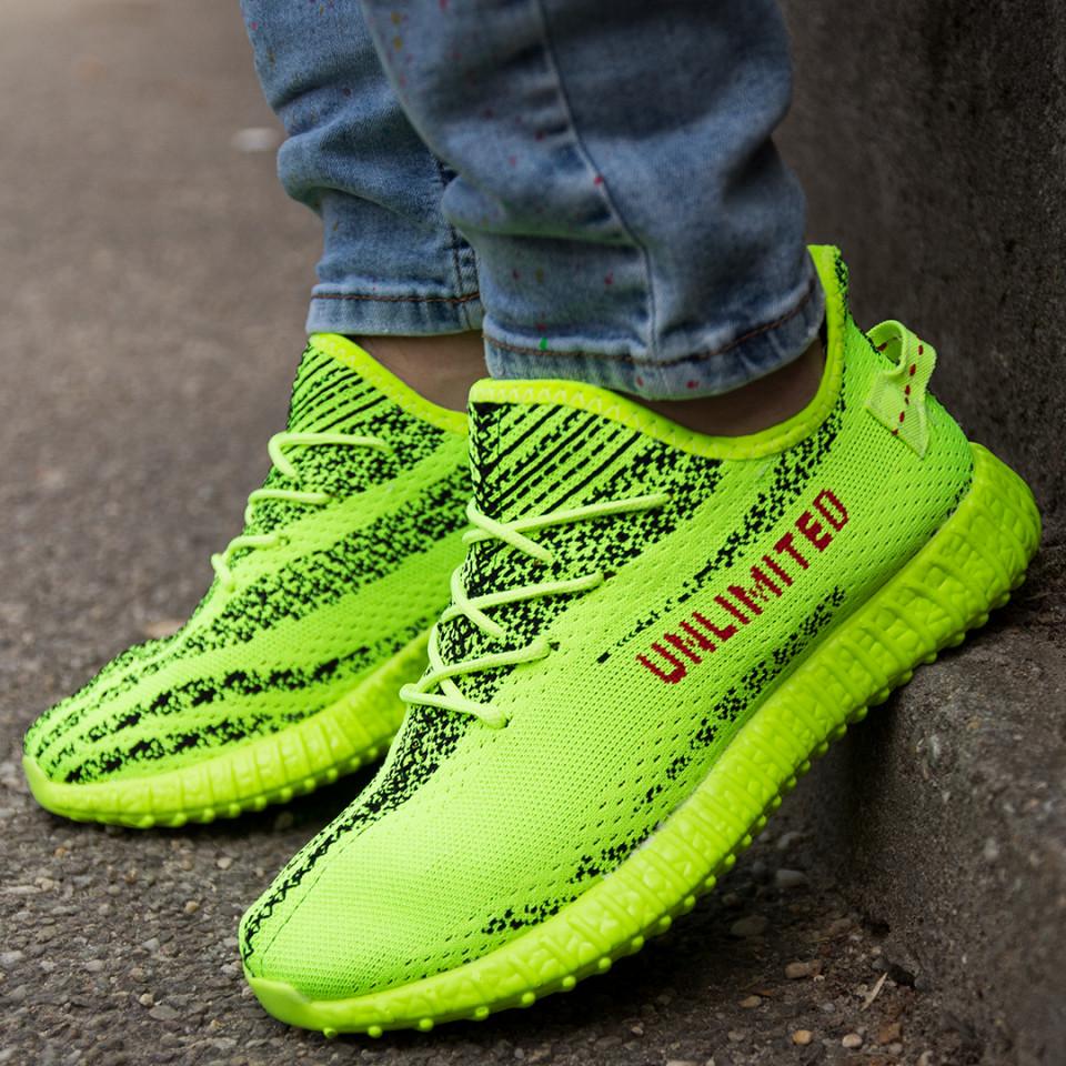 Adidasi Unlimited Verde Neon