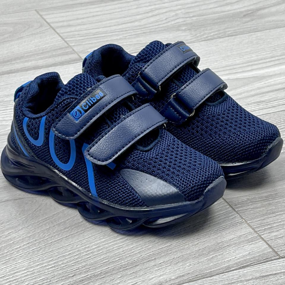 Adidasi Baieti si Fetite cu Luminite CR700 Bleumarin-Albastru