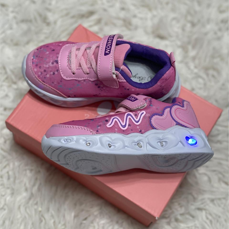 Adidasi Fetite Luminite Roz