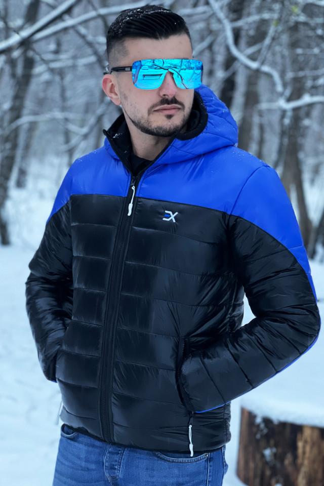 Geaca Exclusive Viper Albastru-Negru