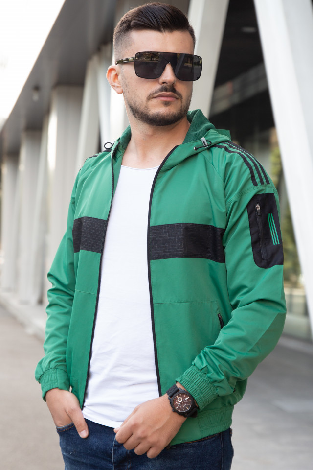 Geaca Fas Exclusive STY Verde