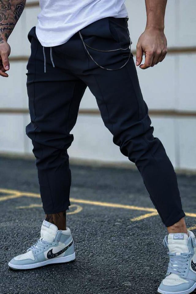 Pantaloni CH Negru