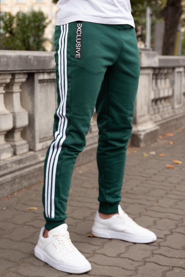 Pantaloni Grosi Bumbac Exclusive Verde