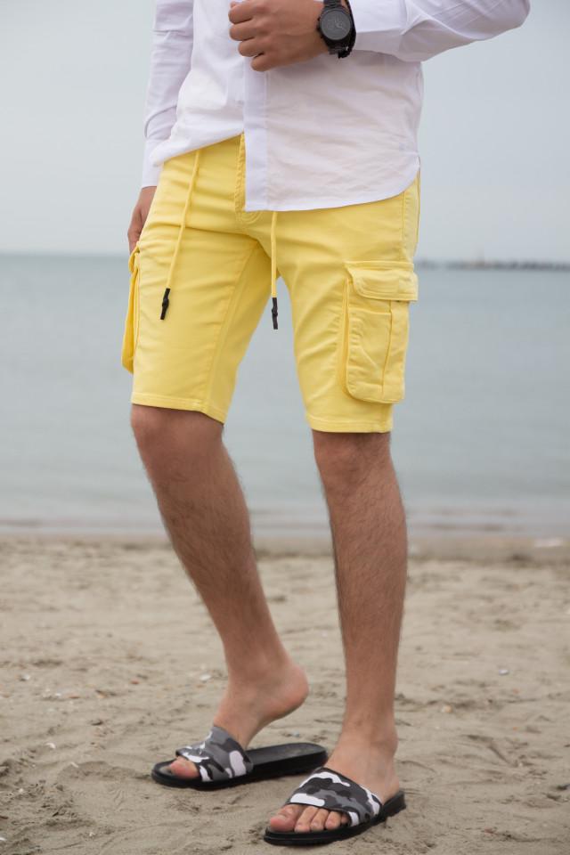 Pantaloni Scruti SMW Galben cod 3176