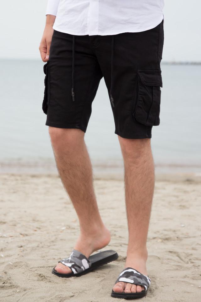 Pantaloni Scruti SMW Negru cod 3176