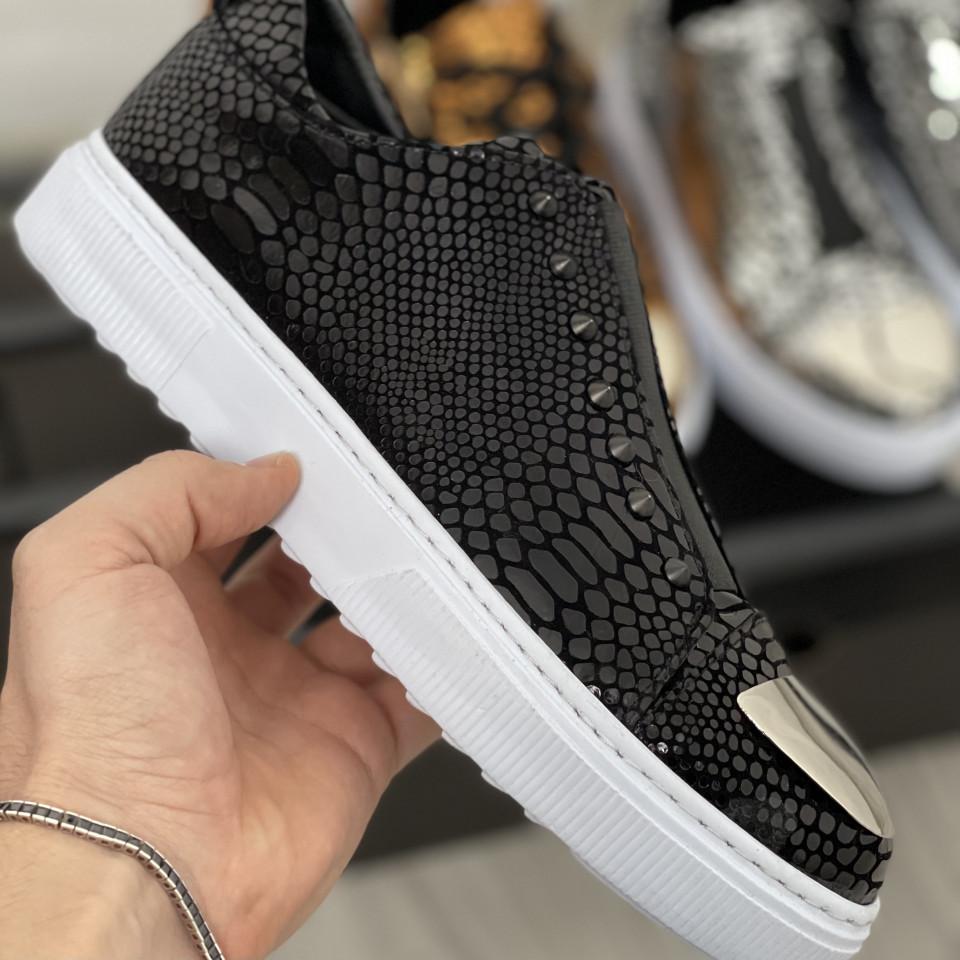 Pantofi sport LST Negru Alb
