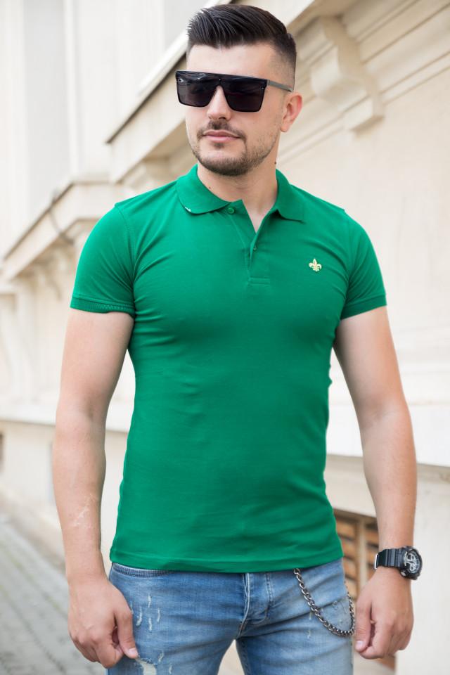 Tricou Polo Verde