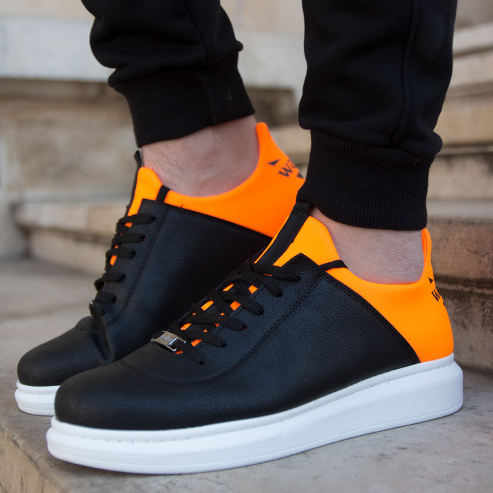 Adidasi Duo Negru-Orange
