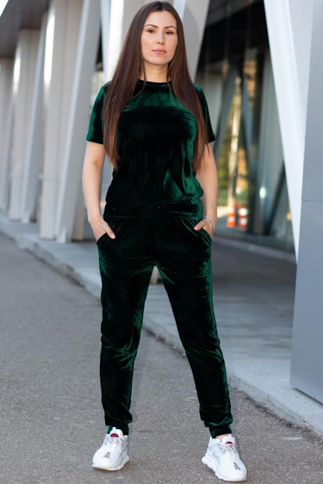 Compleu Dama Catifea Verde