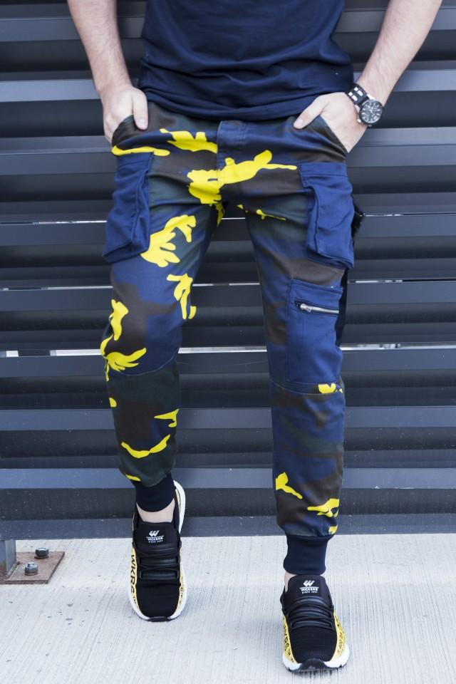 Pantaloni Cargo Camuflaj Galben COD : B4456