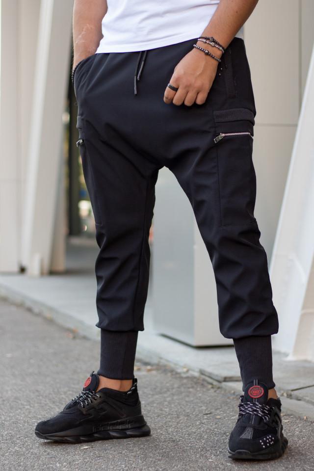 Pantaloni cu Tur Lasat k289 Negru